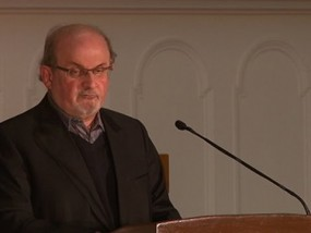 Rushdie Defends Charlie Hebdo, Free Speech