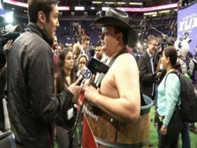 The Wild Side of Super Bowl Media Day