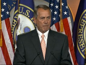 Boehner on DHS Funding: 'Time for Senate to Act'