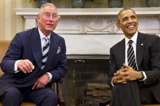 Barack Obama, Prince Charles