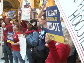 Dispute Surrounds New Indiana Religious Law