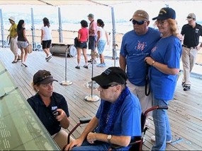 Dying Vet Gets Wish, Visits Pearl Harbor