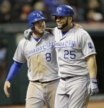Mike Moustakas, Kendrys Morales