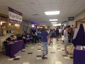 Thousands of visitors gathered on K-State's campus for Open House on Saturday, April 11.