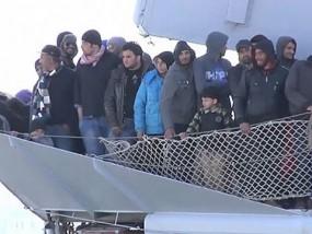 Migrant Vessel Capsizes in Mediterranean