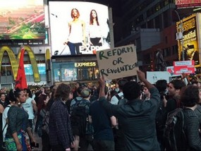Protesters Disrupt New York Traffic