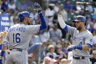 Alex Gordon, Paulo Orlando