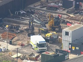 Unexploded WW2 Bomb Found in London
