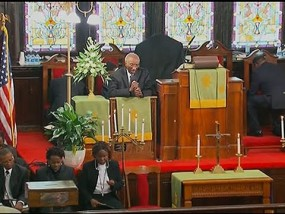 First Church Service Held After SC Shooting