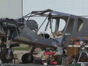 Storm Wreaks Havoc at Iowa Airport