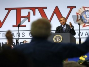 Obama Faces Veterans Amid Iran, Care Concerns