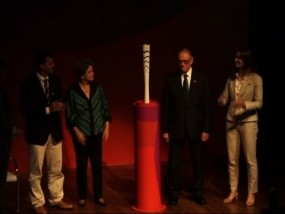 Torch for 2016 Olympic Games Revealed