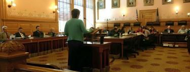 Mary Mertz testifying 3-16