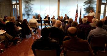 State budget crisis sobers Legislative Coffee gathering