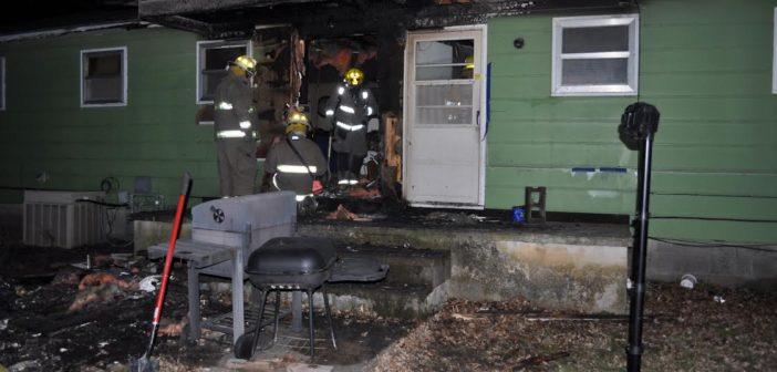 Fire damages home in Ogden