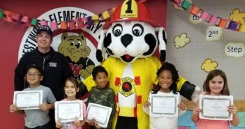 JCFD recognizes Junction City elementary students