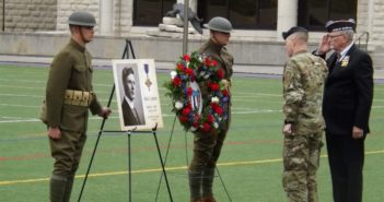 KSU students lost in WWI honored with Memorial Stadium ceremony