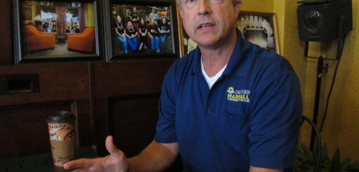 Rep. Marshall talks border security, senate race