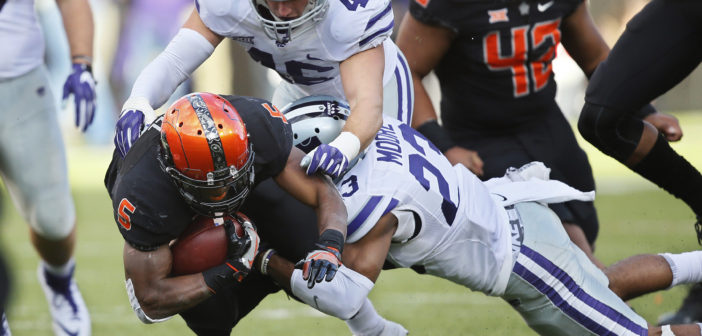 K-State stuns No. 10 Oklahoma State behind Thompson, Pringle
