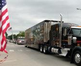 Replica Vietnam Veterans Memorial arrives in Wamego