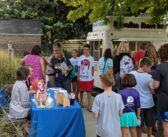 Manhattan Public Library celebrates first day of school with free snow cones