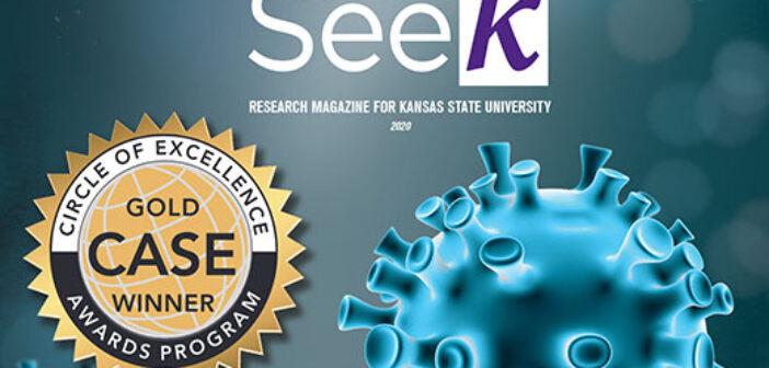K-State research magazine wins international award