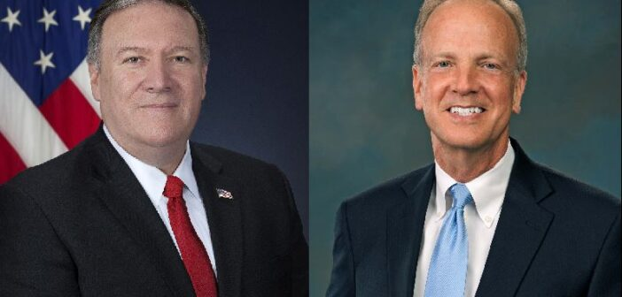 Former Secretary Pompeo endorses Sen. Moran re-election bid